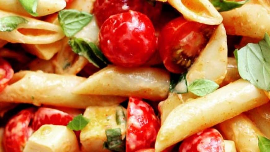 Chilli & Garlic Olive Oil Summer Pasta