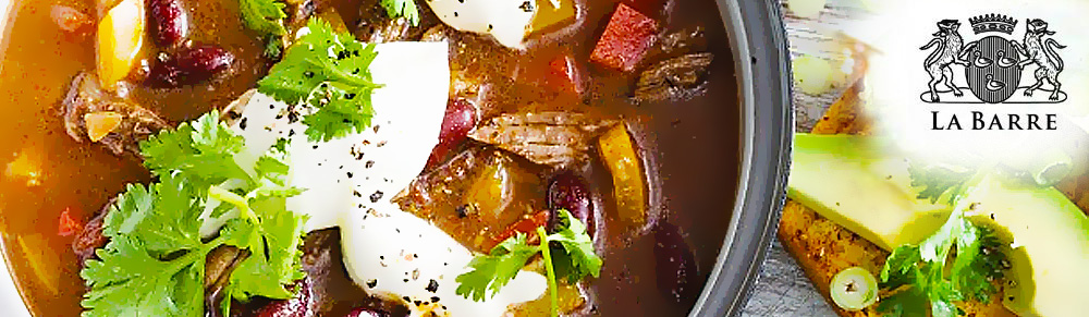 Beef, Tomato & Bean Soup