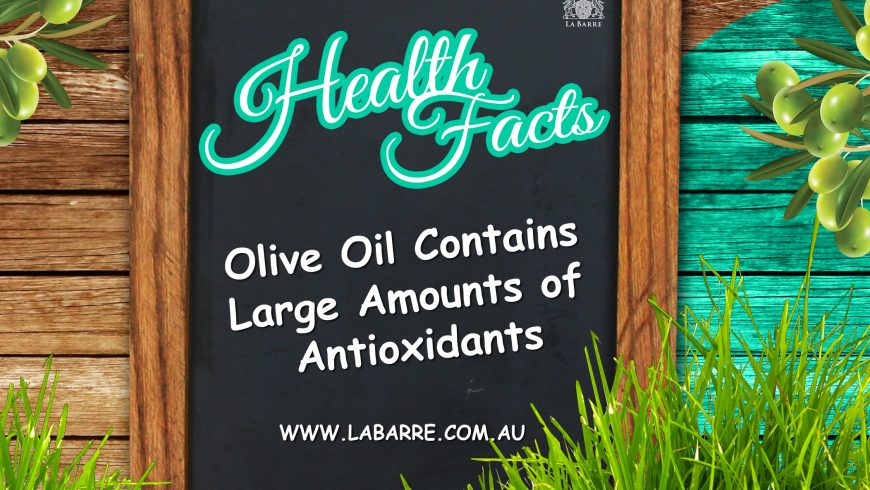 Olive Oil Health Facts #1
