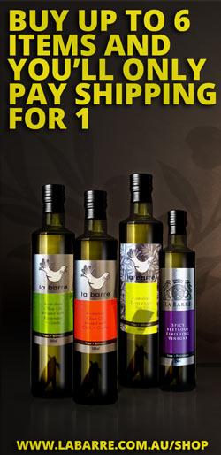 image of la barre olive oils discount
